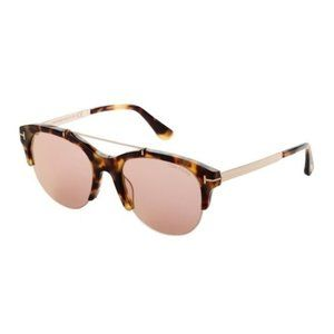 Tom Ford Adrenne Tortoiseshell Sunglasses